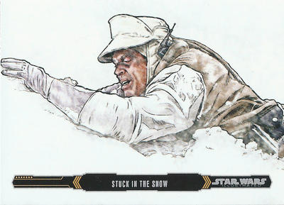 Topps Empire Strikes Back Illustrated #17 by Randy-Martinez