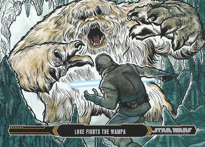 Topps Empire Strikes Back Illustrated 11 by Randy-Martinez