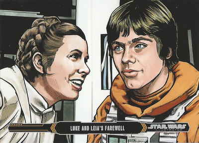Topps Empire Strikes back Illustrated #33 by Randy-Martinez