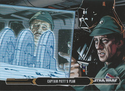 Topps Empire Strikes back Illustrated #31 by Randy-Martinez