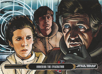 Topps Empire Strikes back Illustrated #29 by Randy-Martinez
