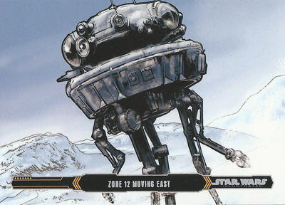 Topps Empire Strikes back Illustrated #27 by Randy-Martinez