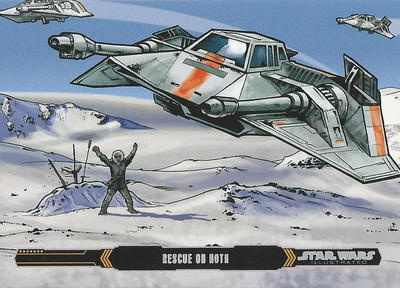 Topps Empire Strikes Back Illustrated #25 by Randy-Martinez