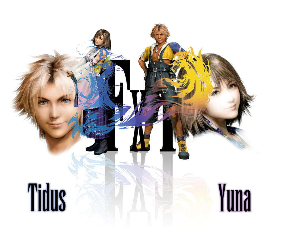 Tidus... Yuna... what else? XD by Ashaska