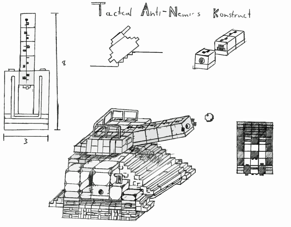 experimental tank construction  - screenshots - show your creation - minecraft forum