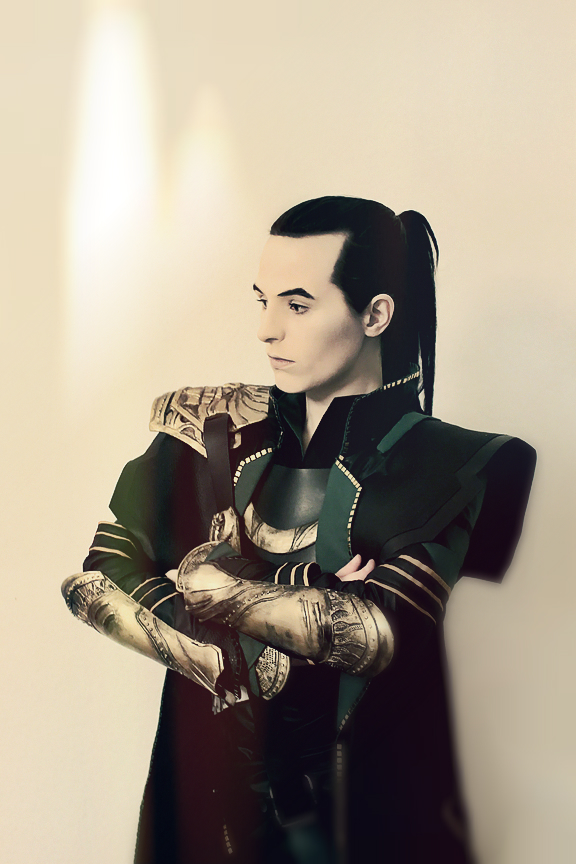 Loki with Ponytail by FahrSindram