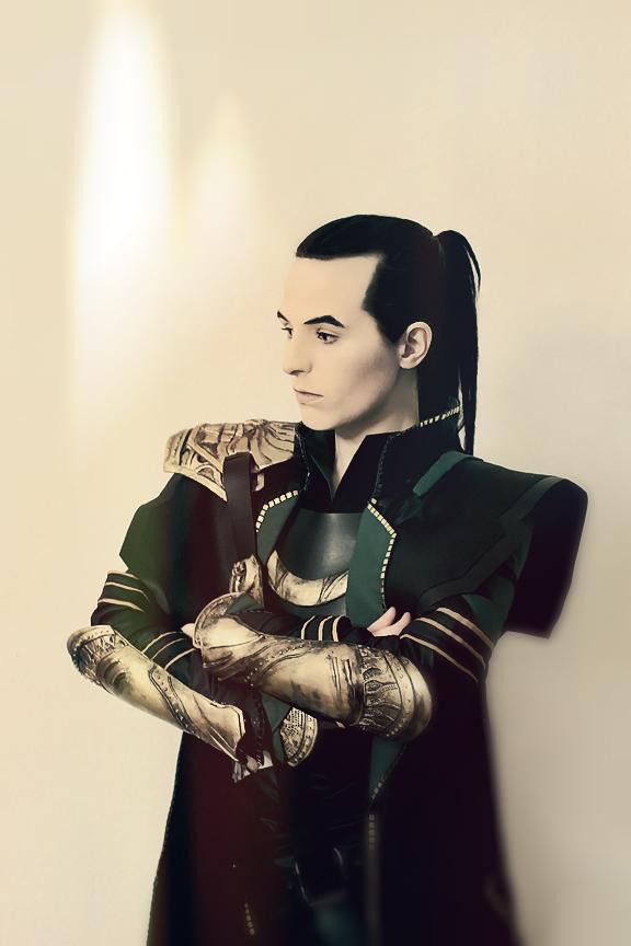 Loki with Ponytail by FahrSindram