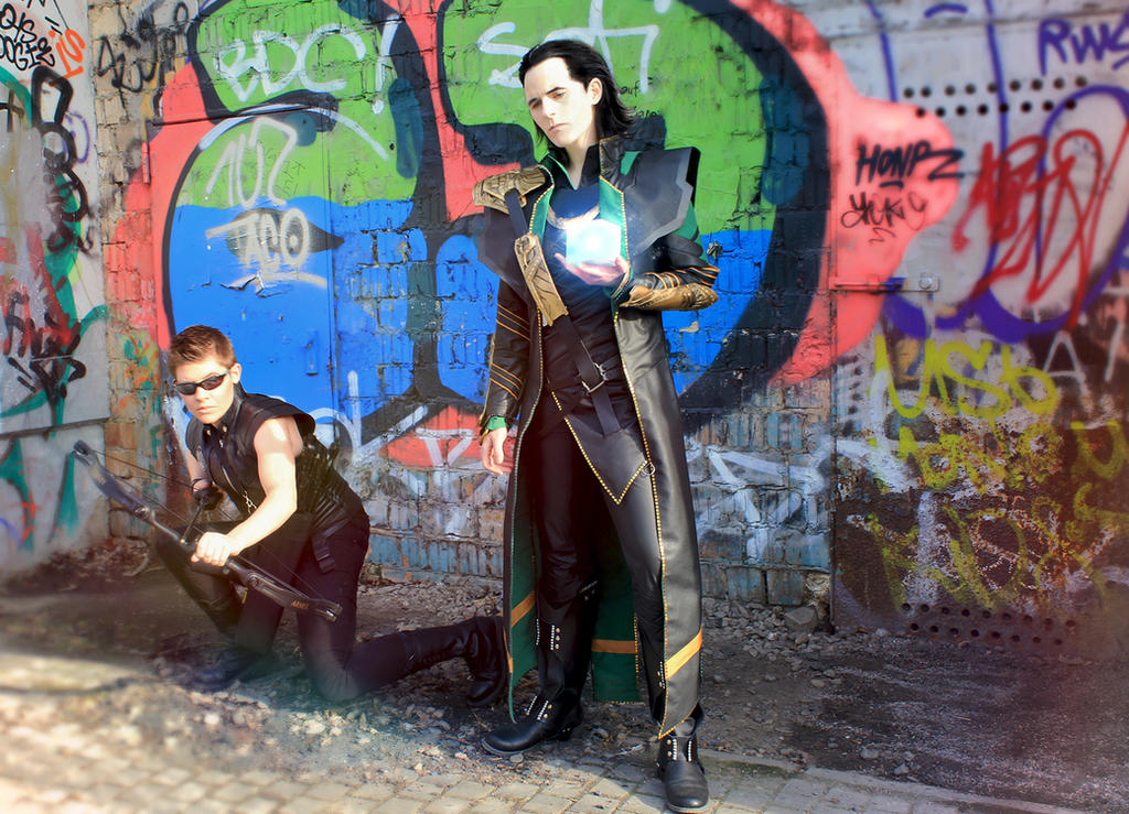 LOKI: Admit it, Barton, we are LOST by FahrSindram