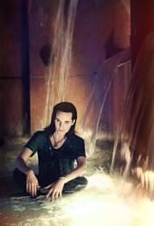 Loki cosplay: water magic by FahrSindram