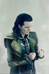 Loki cosplay: the chains I've made for myself