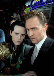 Let us do a Loki face to confuse everyone
