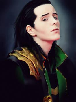 Loki Cosplay: Portrait sitting