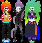 Nefarian Clown Ocs: Lenny-Ubel-Solo