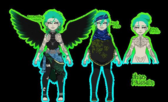 Umbra Character: Ihan (Pixel Doll)