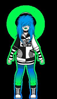 Umbra Character: Uli (Pixel doll)