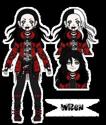 Umbra Character: Wren (Pixel Doll)