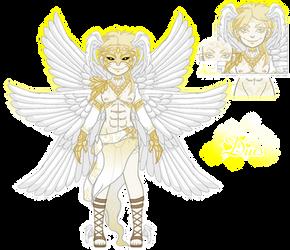 Umbra Character: Dius  (Pixel doll)