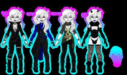 Umbra Character: Genos (Pixel dolls)