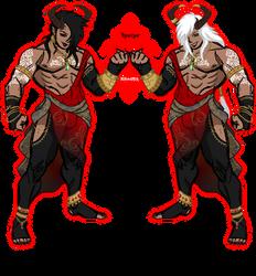 Umbra Characters: Traeus and Kraoss