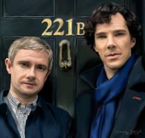 221B Baker Street by ThatLineaGirl