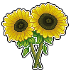 Sunflowers Pixel by Petra1999