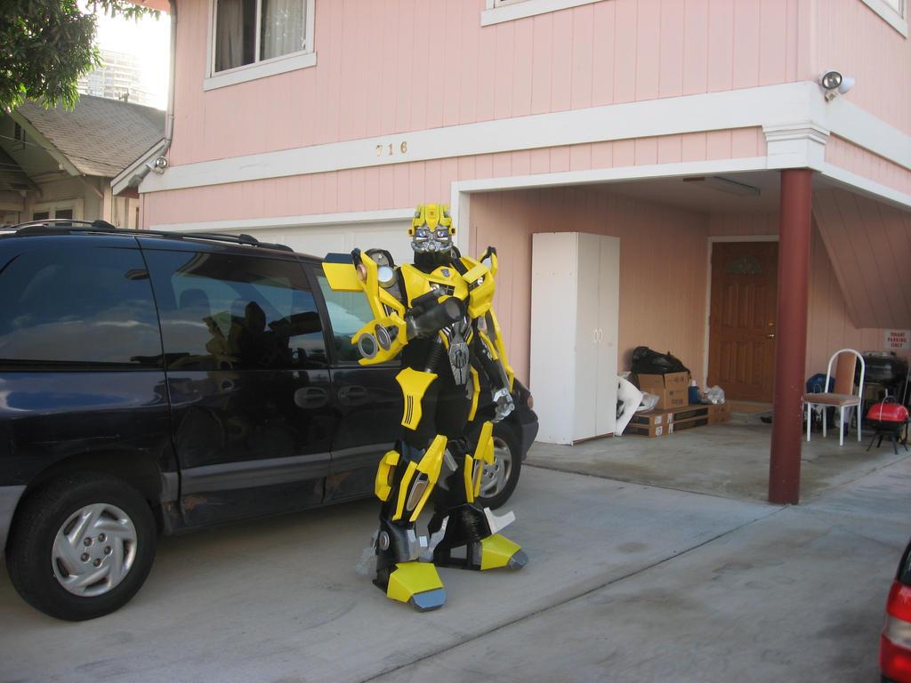 Transformers costume by orudorumagi11