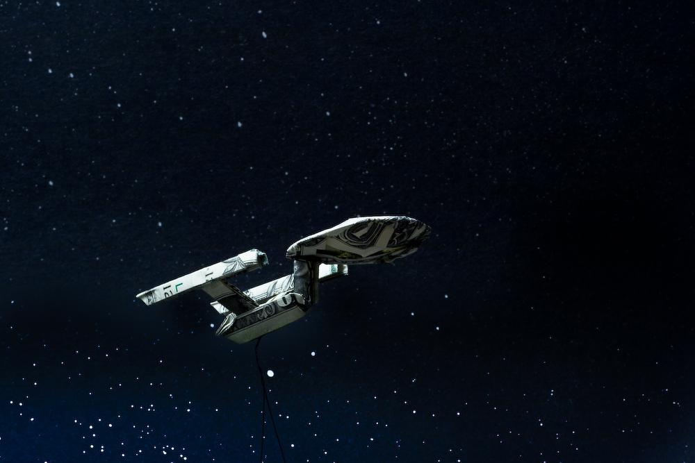 Enterprise bottom view
