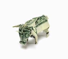 One Dollar Ox by orudorumagi11