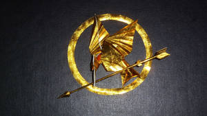 Origami  Mockingjay  from  Hunger Games