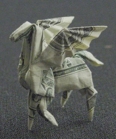 One Dollar Pegasus by orudorumagi11