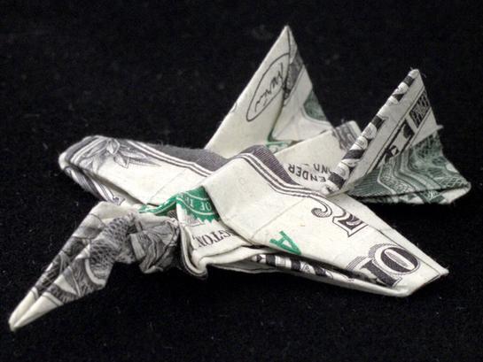 One Dollar jet by orudorumagi11