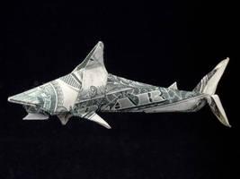 One Dollar Shark by orudorumagi11