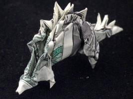 One Dollar Stegasaurus by orudorumagi11