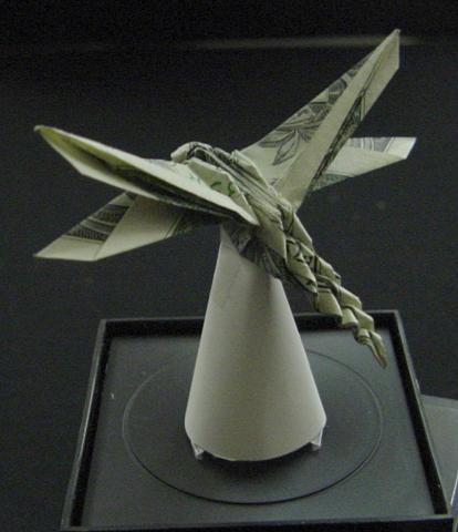 One Dollar Dragonfly by orudorumagi11