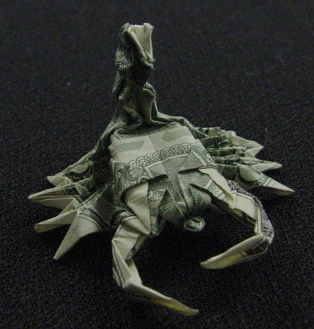 One Dollar Scorpion by orudorumagi11