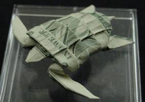 One Dollar Sea Turtle by orudorumagi11