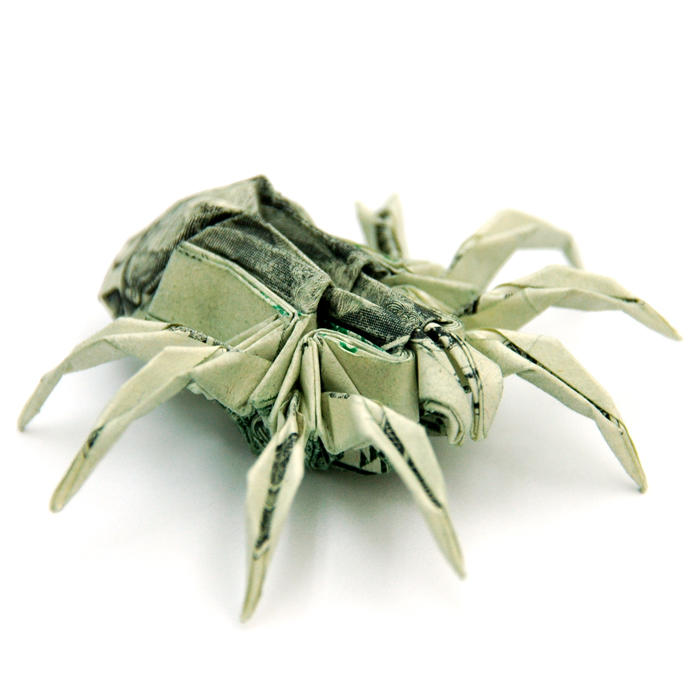 How to make an origami fish out of a dollar bill - Quora   700x700