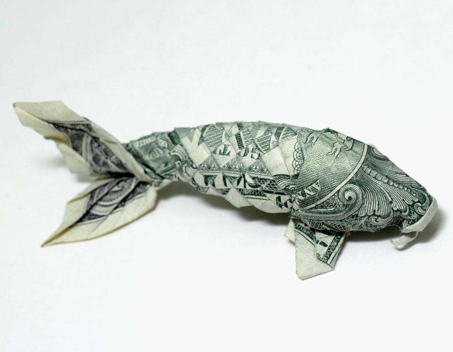 One dollar koi_new ver. side by orudorumagi11