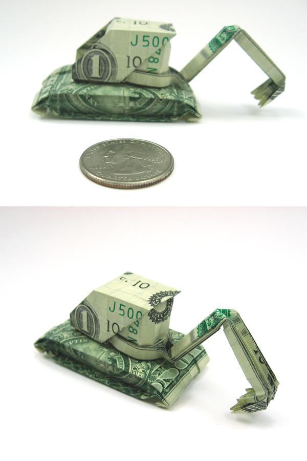 Origami con d lares no es repost taringa for How contractors make money