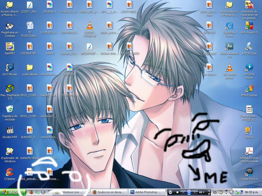my desktop by Soubixcos