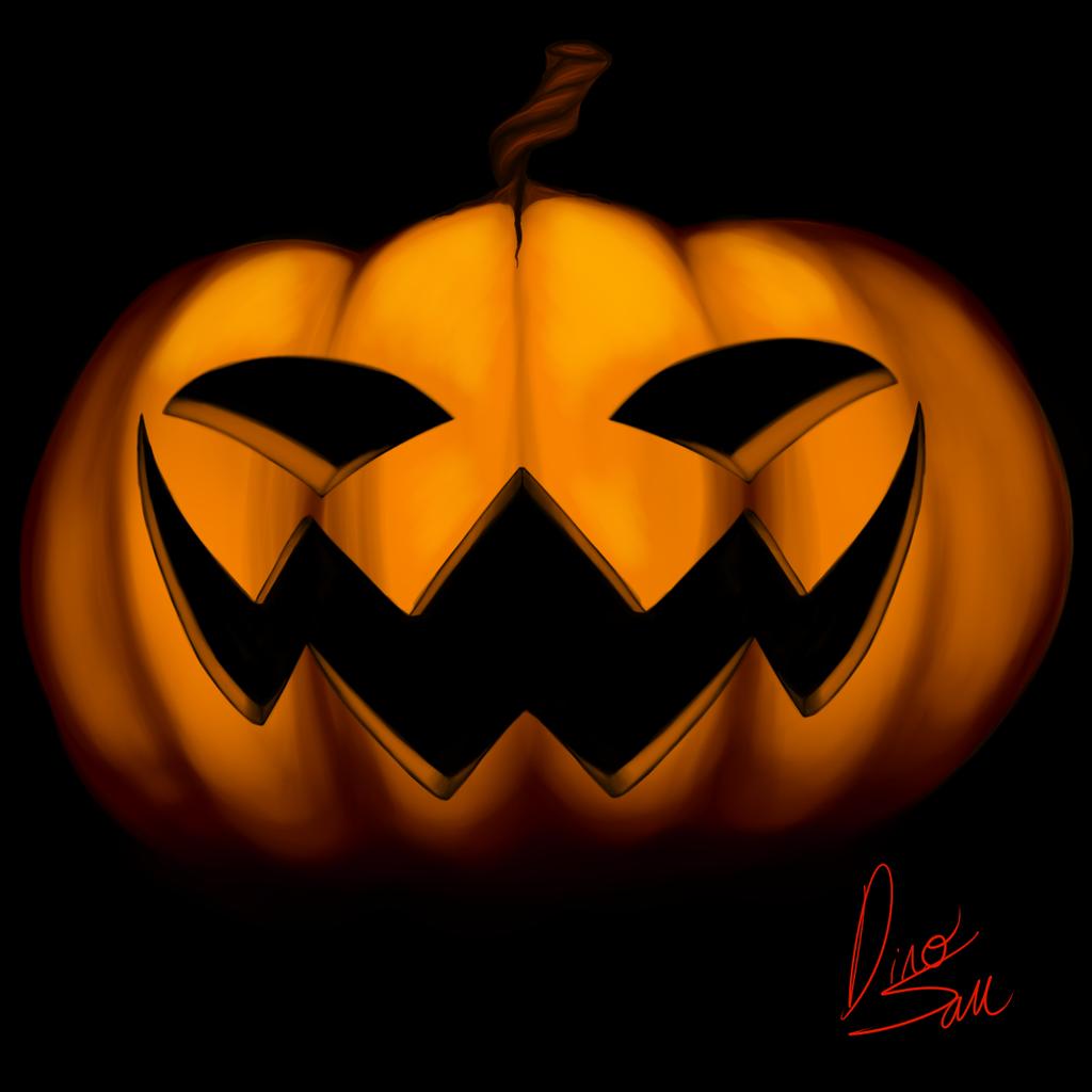 Spooky Drawings JackOLantern by DinoSam on DeviantArt