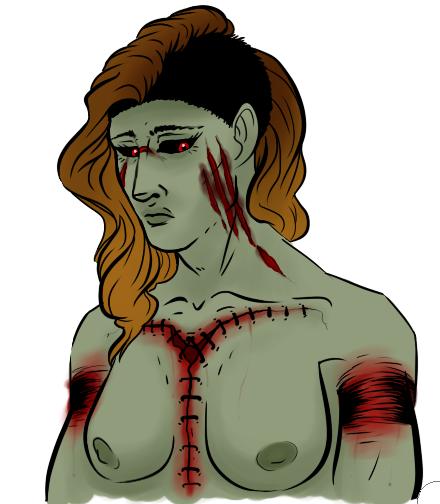 Psycho bust by DinoSam