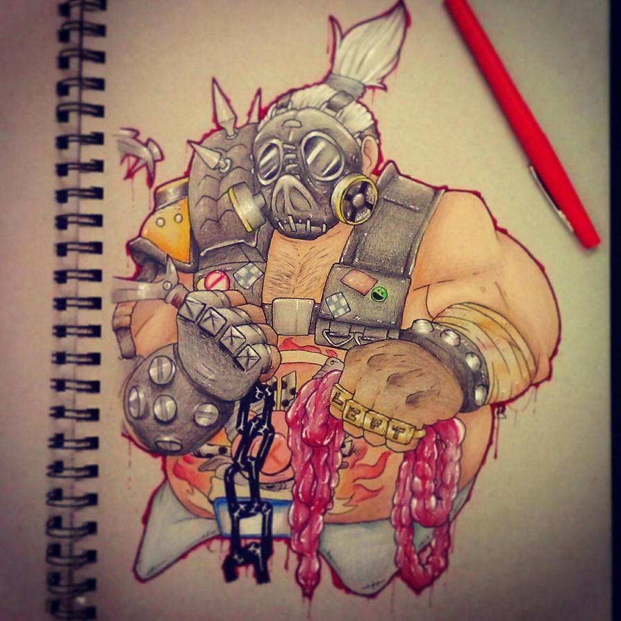 'I'm a one-man apocalypse' by DinoSam
