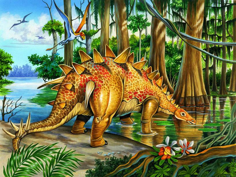Dinosaur by ELOart