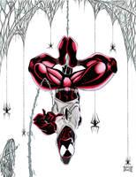 Scarlet spider by ELOart
