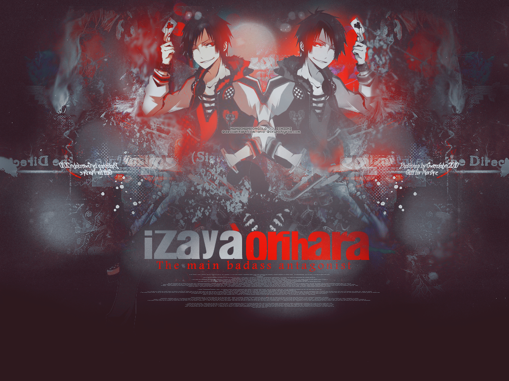 Izaya Wallpaper by hanachanvongola