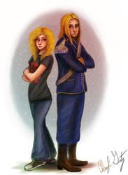 Dawn and Lex by Merina-Sky