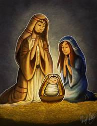 A Savior Was Born by Merina-Sky
