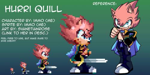 A Mania-Inspired Hurri Quill Sprite!