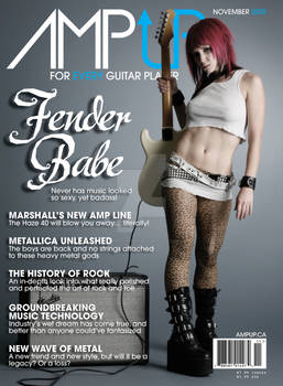 AmpUP Magazine Cover